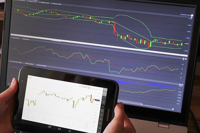 取引, 分析, 外国為替, グラフ