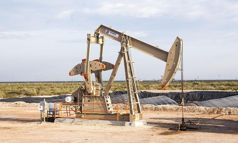 油田, ポンプ, 原油, 石油