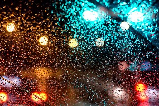 Light, Ⲛߋn, Rainwater, Reflect, Flow