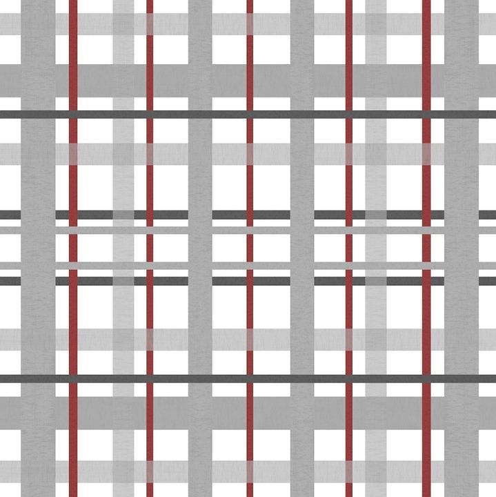 Free illustration: Fabric, Plaid, Grey, Gray, Burgundy - Free ...