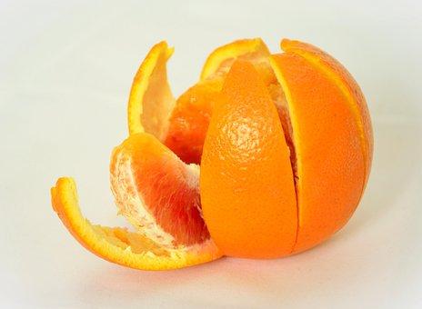 Orange, Orange Peel, Citrus Fruit, Fruit, Healthy