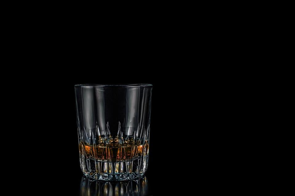 Whisky, Glas, Whiskey Glas, Wiskeyglas, Alkohol, Rom
