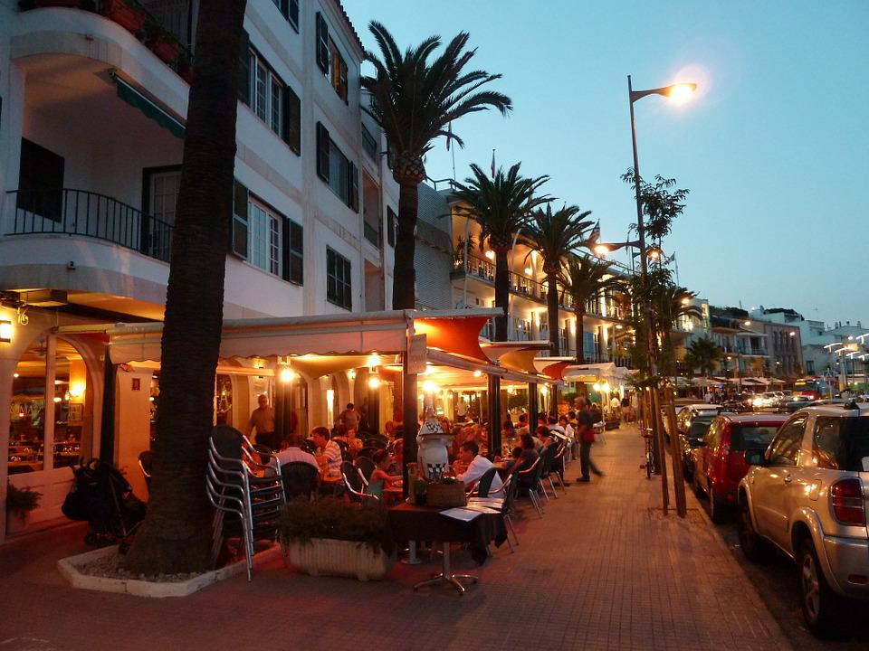 Restaurant, Terrace, Menorca, Outdoor, Cafe, Summer