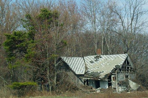 House, Destruction, Home, Building
