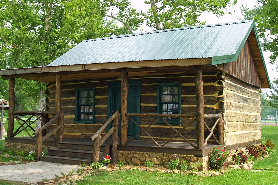 Free photo log home cabin house wood free image on for Types of homes to build