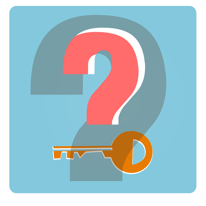 Free illustration: Key, Security, Icon, Question Mark ...
