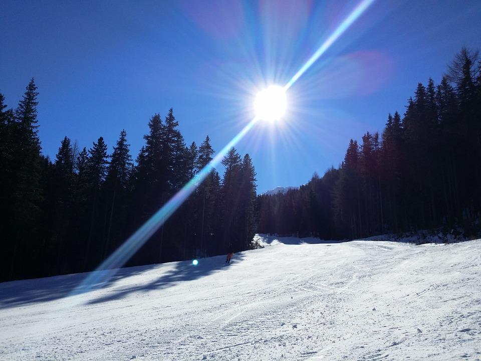Vuoret, Alppi, Tiroli, Lumi, Maisema, Itävalta