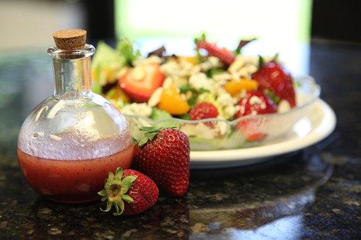 Food, Dressing, Salad