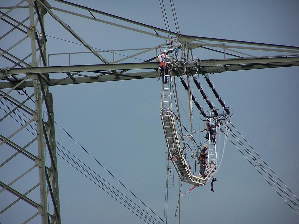 Free photo: Strommast, Sky, Work, Electricity - Free Image on ...