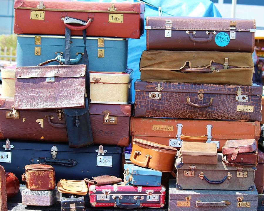 Luggage Stack Vintage 183 Free Photo On Pixabay