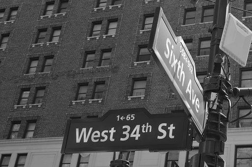 Corner, Crossroads, Plate, Street