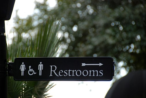 Sign, Bathroom, Restroom, Symbol, Icon