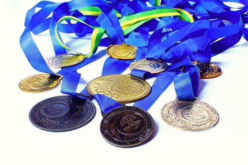 Medal, Awards, Honor, Merit, Winner