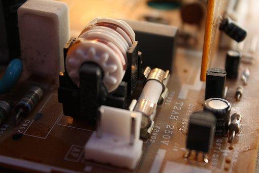 Hedging, bobina, placa de circuito