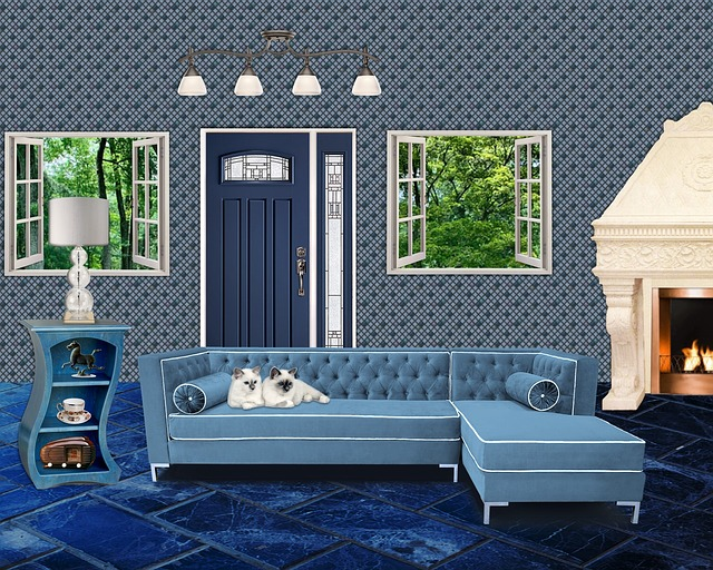 Free Illustration Interior Room Living Home House