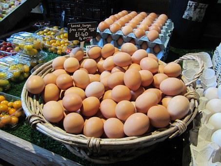 Eggs, Farm Shop, Organic, Healthy