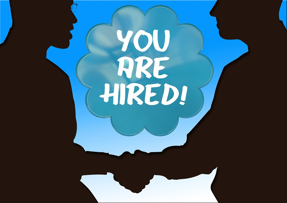 Hand, Congratulations, Presentation, Hired, Employment