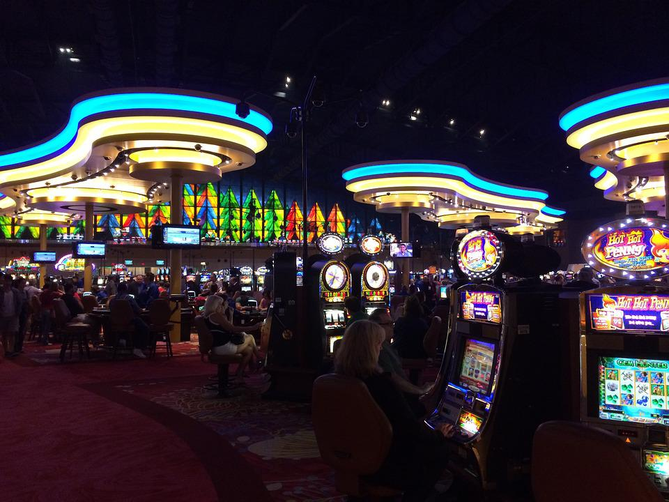 Casino, Light, Game