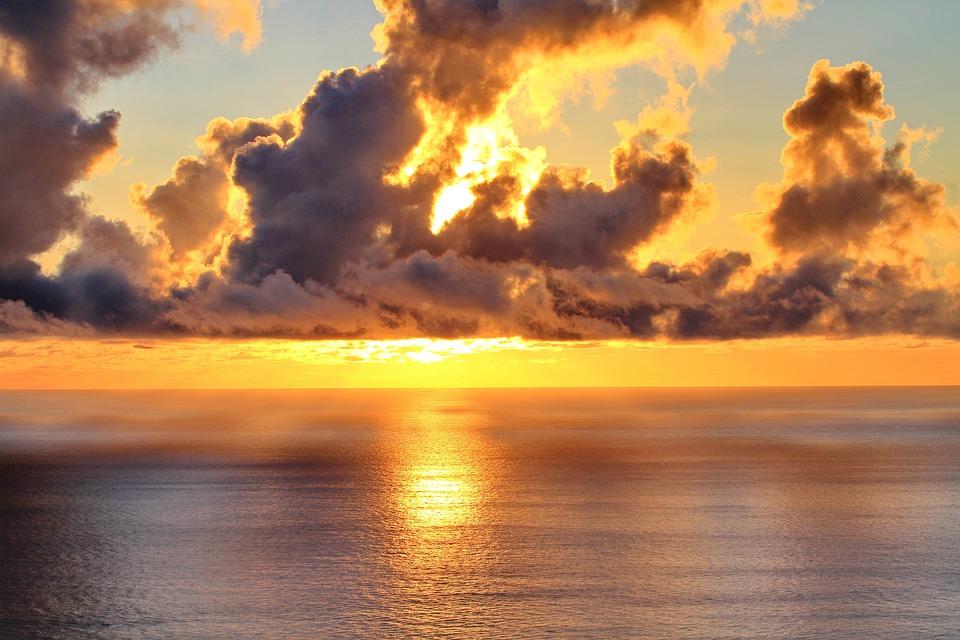 Clouds Sunset Sea - Free photo on Pixabay