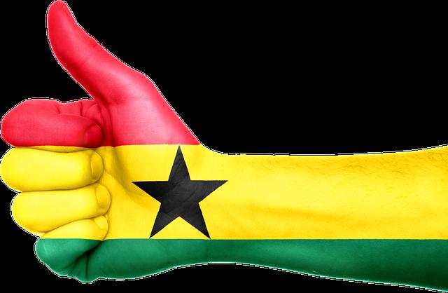 ghana hand flag  u00b7 free image on pixabay
