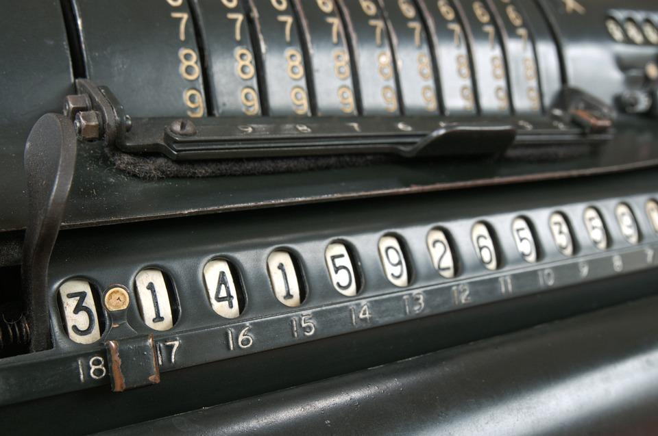 Vintage, Calculadora, Pi, Cálculo, Calcular, Cómputo
