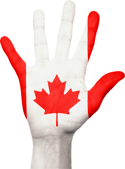 free illustration  canada  hand  flag  country  pride - free image on pixabay