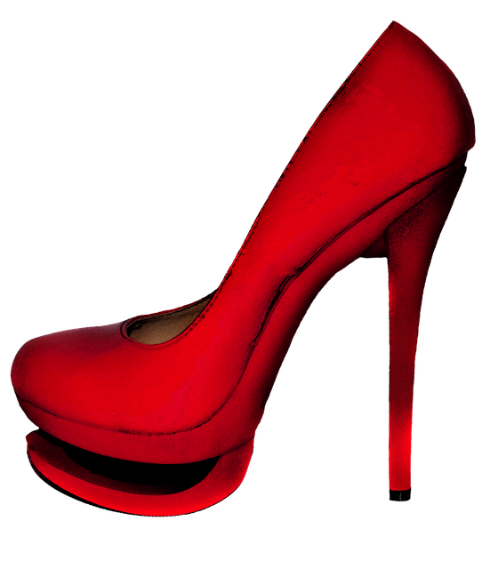 free illustration red high heels shoes feminine free. Black Bedroom Furniture Sets. Home Design Ideas