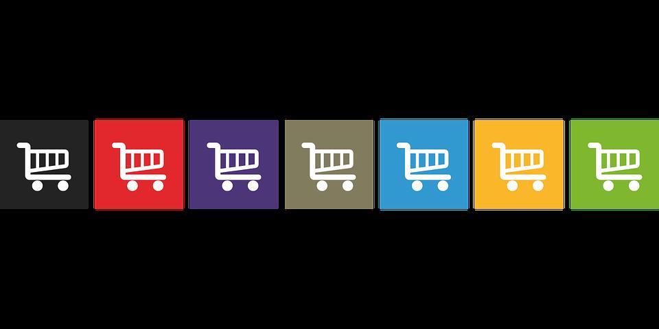 無料ブログは集客効果がない|ショッピングカートの画像|集客できるブログはWordPressがおすすめ|アインの集客マーケティングブログ