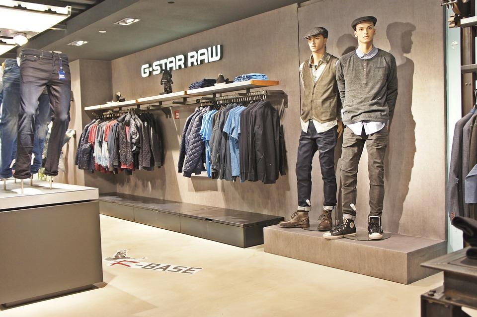 klær butikk