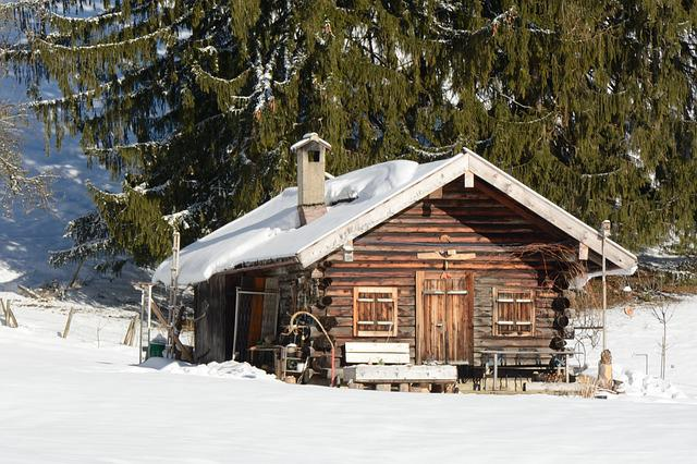 Winter snow hut block free photo on pixabay for Winter cabin plans