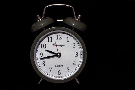 Clock, Alarm Clock, Bell, Dial, Clock