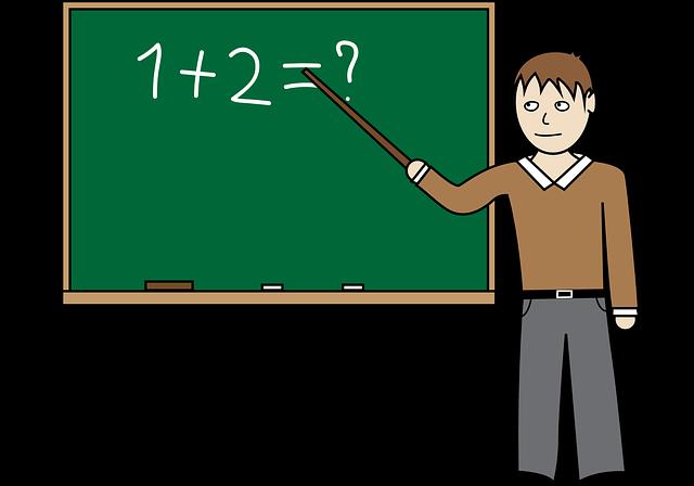 Teacher Classroom Chalk Board · Free vector graphic on Pixabay