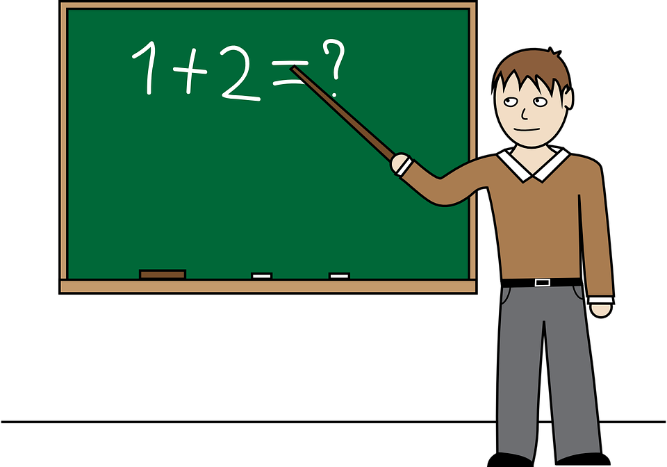 Teacher Classroom Chalk Board · Free vector graphic on Pixabay