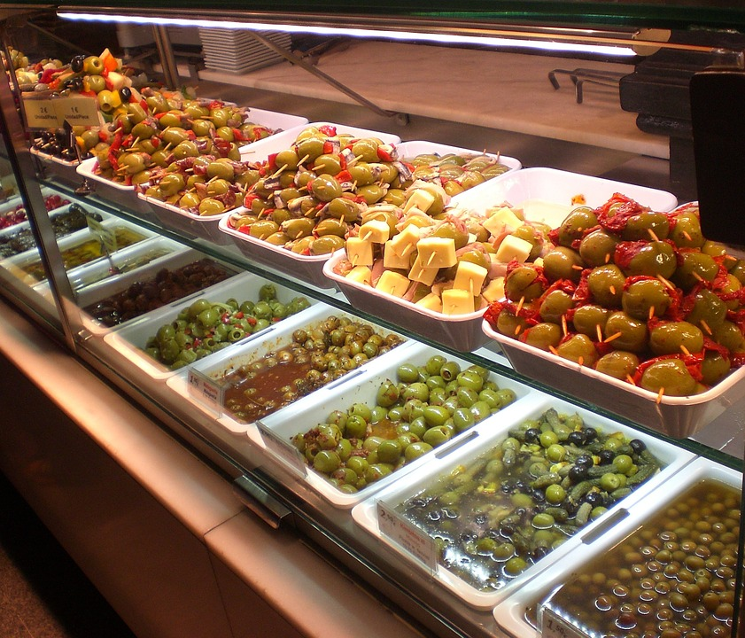 Olives, Counter