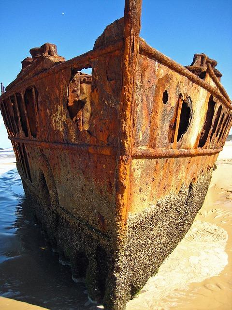 Free Photo Ship Wreck Fraser Island Free Image On