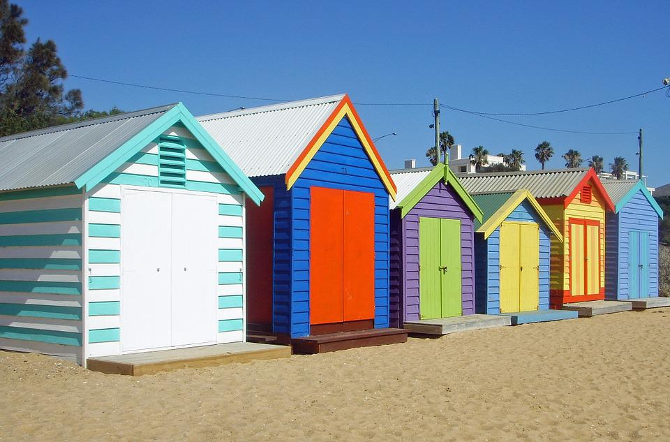 Melbourne Beach Cottages Colorful