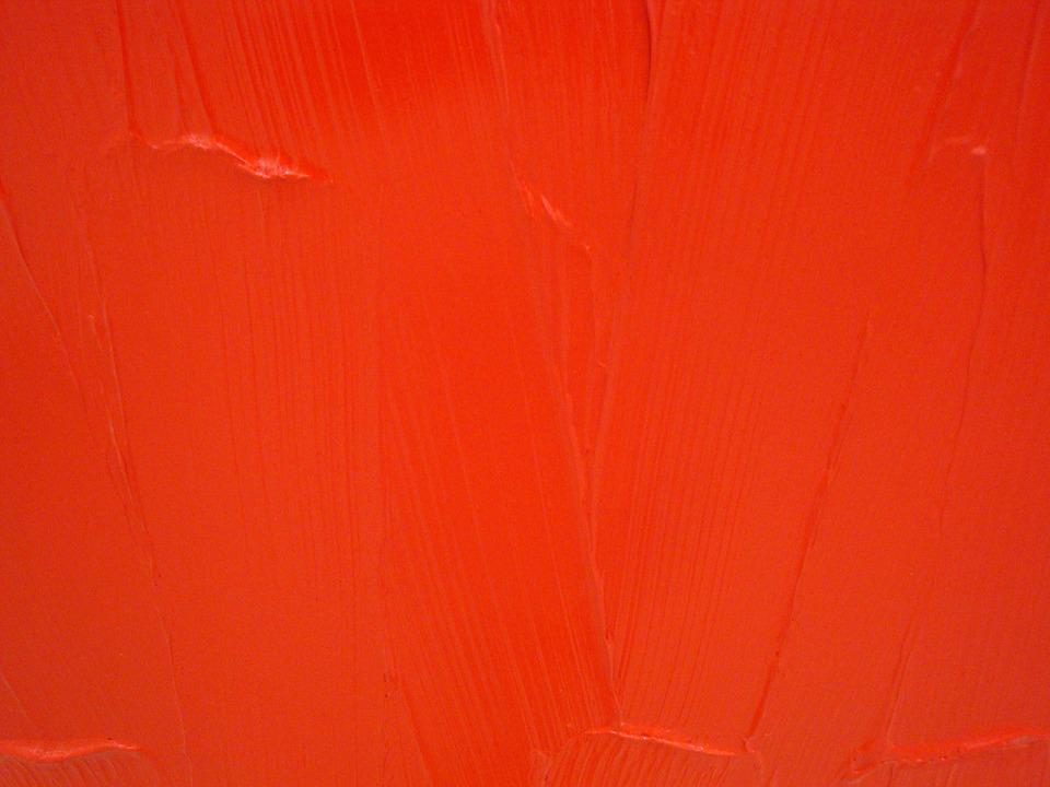 free photo: red, texture, paint, color, brush - free image on