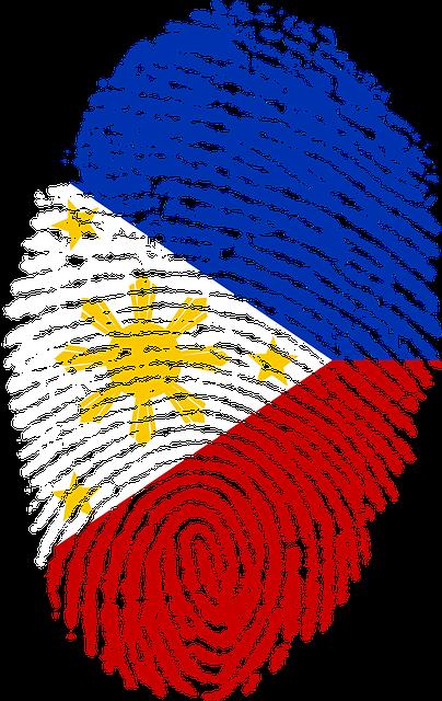 Philippines Flag Finge...