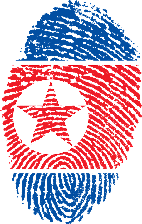 North Korea Flag Fingerprint · Free image on Pixabay
