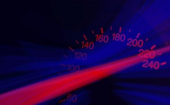 スピードメーター, 速度, ラッシュ, Vollgas, 高速します