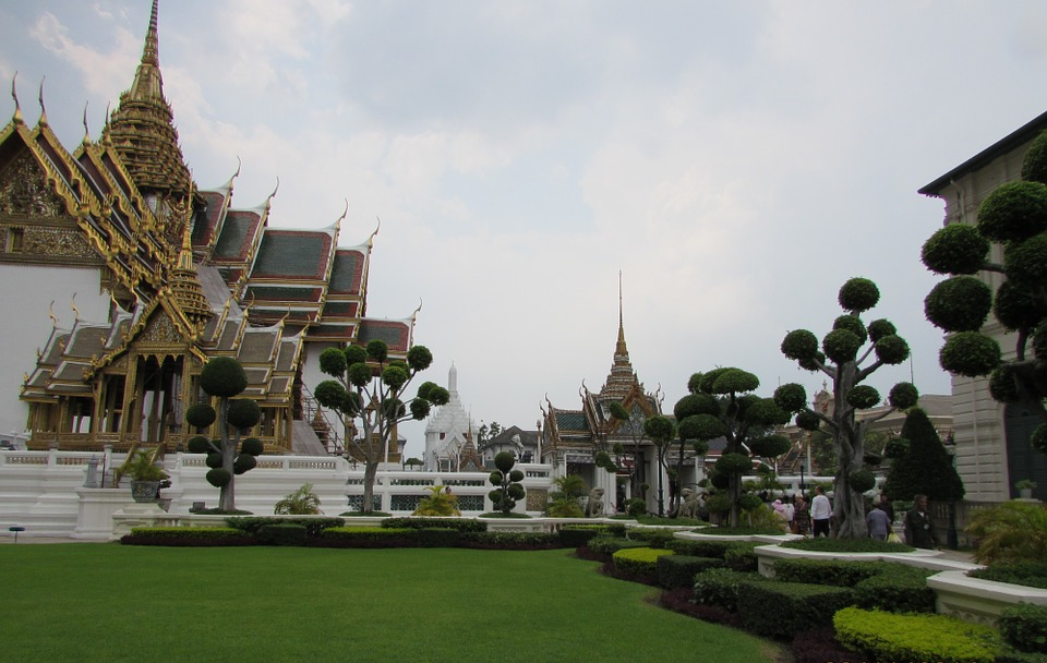 Palace, Bangkok, Thailand, Asia, Architecture, Temple