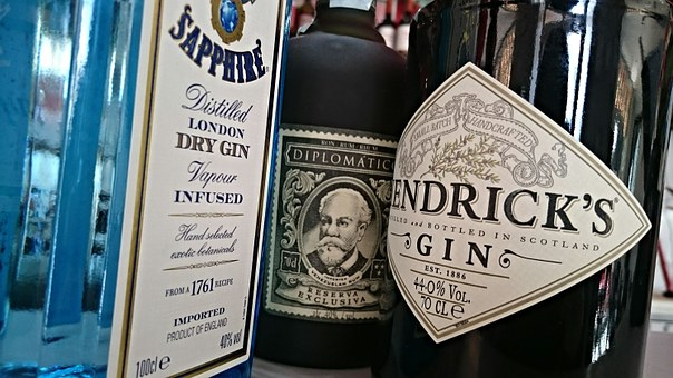 Rum, Gin, Alcohol, Bar, Alcoholic, Tonic