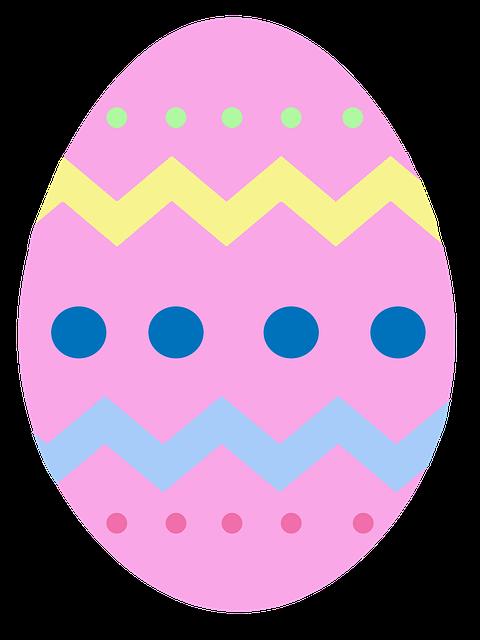 Free illustration: Easter, Egg, Pink, Chevron - Free Image on Pixabay ...