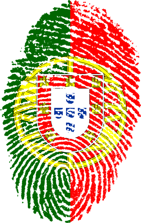 portugal flag fingerprint 183 free image on pixabay