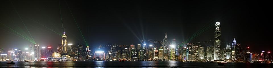 China, Hong Kong, City, Travel, Landmark, Cityscape
