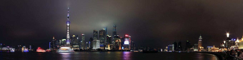 La Chine, Shanghai, Ville, Voyage