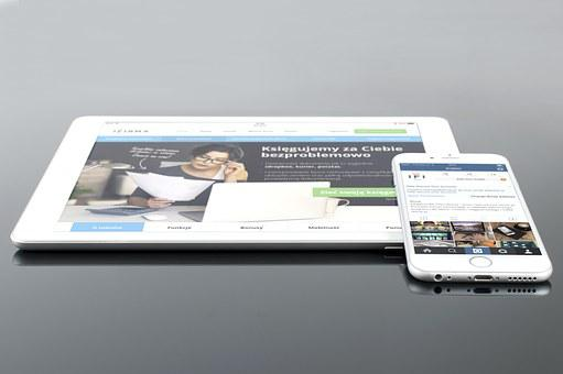 Mockup, Psd, Ipad, Iphone, White, Mobile