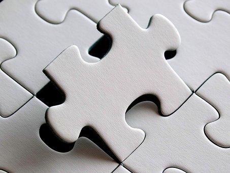 パズル, 最後の粒子, 作品, 分界, 正確なフィット感, 最後の要素, 挿入