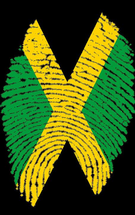 Jamaica Flag Fingerprint - Free image on Pixabay