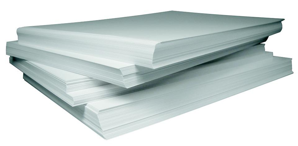 Free Photo Paper Stack White Free Image On Pixabay